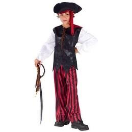 Boys Caribbean Pirate Buccaneer Halloween Costume