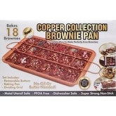 18 Cavity - Copper Collection Brownie Pan