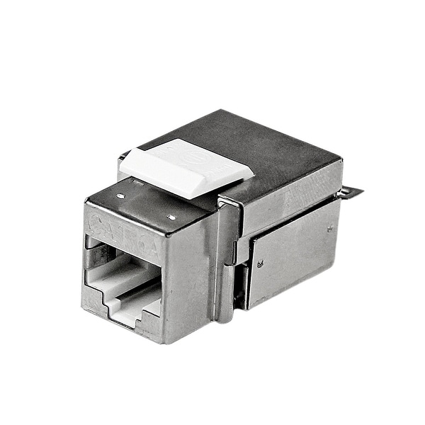 Startech C6akey110wh Shielded Cat 6A Keystone Jack Rj45 Ethernet Wall Jack White