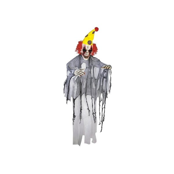 Evil Clown 4' Poly Foam Prop Halloween Decoration