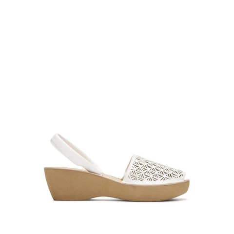 9f4ce85143 Kenneth Cole Reaction Womens Fine Glass Peep Toe Casual Platform Sandals