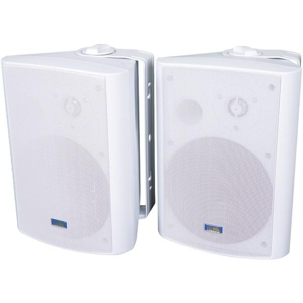 Tic Corporation Asp120W Indoor/Outdoor 120-Watt Speakers With 70-Volt Switching (White)