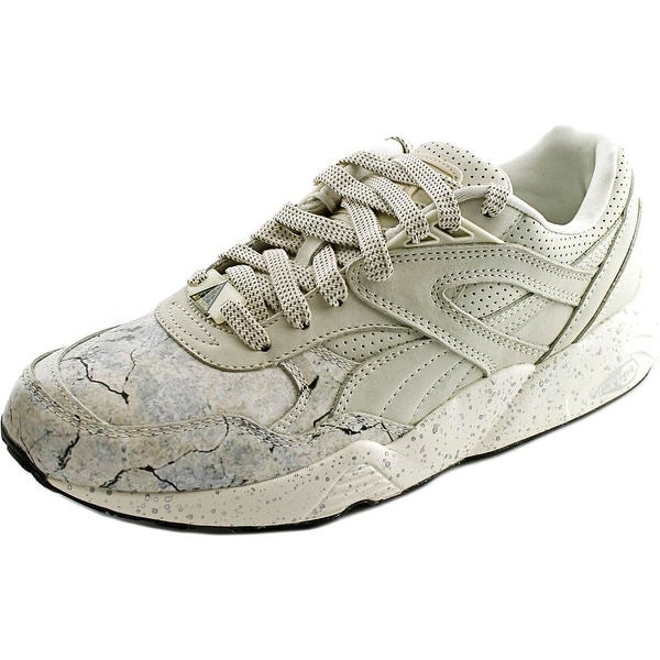 Puma R698 Roxx Men Round Toe Leather White Sneakers
