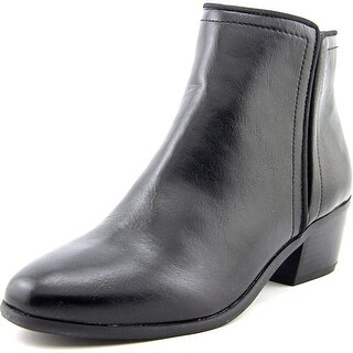 Karen Scott Fannia Women  Round Toe Synthetic Black Ankle Boot