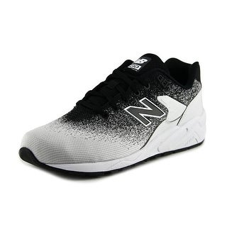 New Balance RT580 Men Round Toe Canvas Black Running Shoe