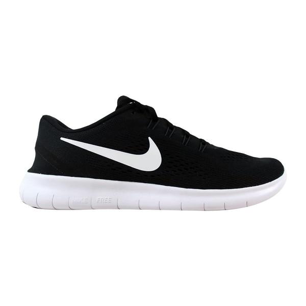 9a050dcf552bb Shop Nike Free RN Black White-Anthracite 831508-001 Men s - Free ...