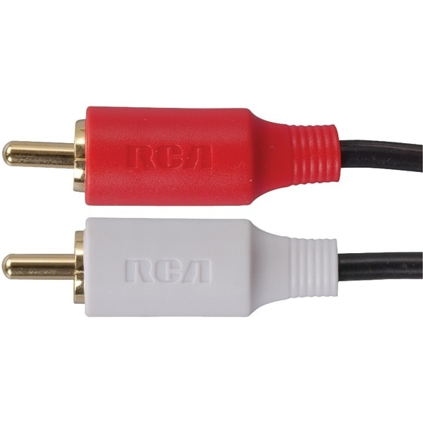 Rca Ah19R Stereo Audio Cable (6Ft)