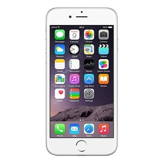 Apple iPhone 6 16GB Unlocked GSM 4G LTE Phone - Silver (New Open Box)