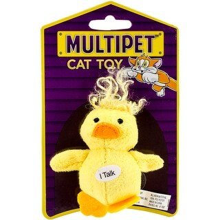 Duck - Multipet Look Who's Talking Plush Toy 1.25""