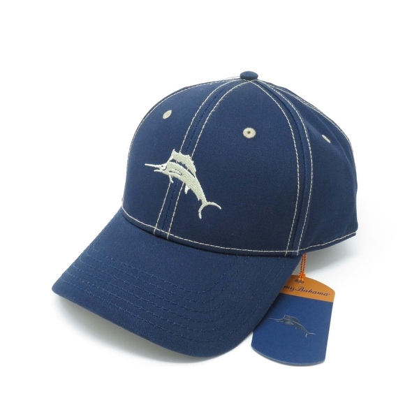 e22544d10ed Shop Tommy Bahama Marlin Camper Navy Adjustable Golf Hat Ball Cap - Free  Shipping On Orders Over  45 - Overstock - 19481125