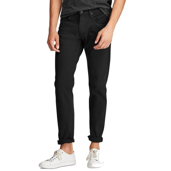 Polo Ralph Lauren Men's Hampton Relaxed Straight Stretch Jeans. Opens flyout.