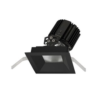 "WAC Lighting R4SAT-F Volta 4.5"" Square Adjustable Trim with LED Light Engine and 45 Degree Flood Beam Spread (More options available)"