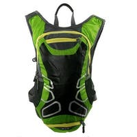HWJIANFENG Authorized Sports Traveling Running Nylon Backpack Bag Green 15L