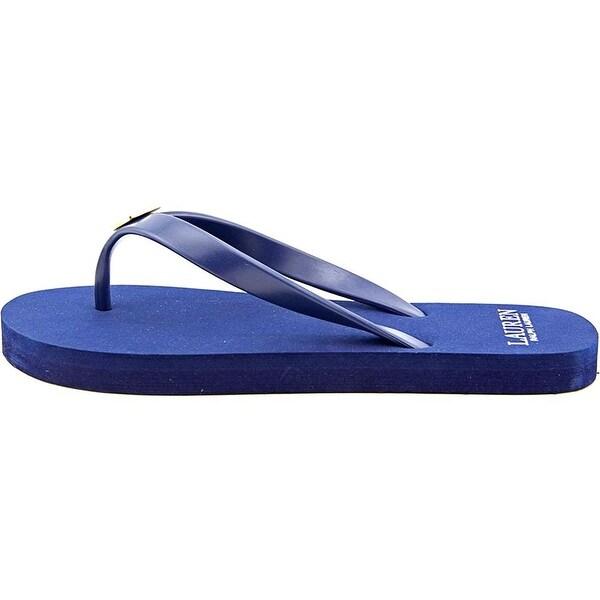 LAUREN by Ralph Lauren Womens Elissa Open Toe Casual Flip Flop Sandals