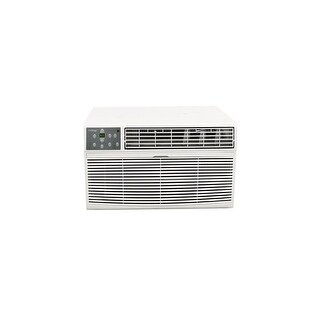 Koldfront WTC8001W 8000 BTU 115V Through the Wall Air Conditioner with 4200 BTU Heater with Remote - White - N/A