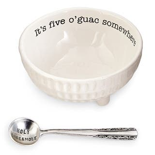 Mud Pie 4851076 Guacamole Serving Dish Set, White|https://ak1.ostkcdn.com/images/products/is/images/direct/b3451ab9ea61f82441894dd2cde5f0a1a3fb04ad/Mud-Pie-4851076-Guacamole-Serving-Dish-Set%2C-White.jpg?impolicy=medium