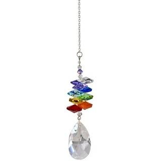 Woodstock Rainbow Makers Crystal Cascade Suncatcher, Genuine Austrian Almond ...