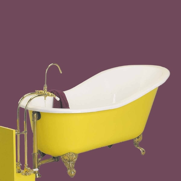Clawfoot Tub Porcelain Slipper Clawfoot Tub Only No Feet