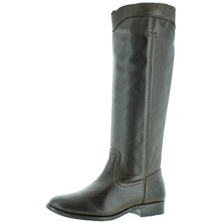 Frye Womens Cara Roper Mid Riding Boots Leather Western