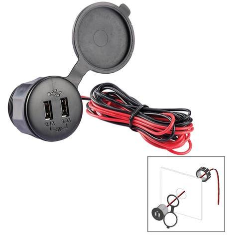 Poly-Planar Usb-Pm Panel Mt 12V USB Charge Port - USB-PM