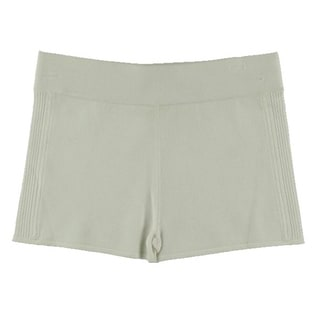 Catherine Malandrino Womens Pointelle Fitted Casual Shorts - S