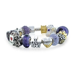 Bling Jewelry Purple Enamel Grandma Bead Charm Bracelet 925 Silver|https://ak1.ostkcdn.com/images/products/is/images/direct/b34bced7f5700fac367318ec7288e0331e68fb17/Bling-Jewelry-Purple-Enamel-Grandma-Bead-Charm-Bracelet-925-Silver.jpg?_ostk_perf_=percv&impolicy=medium