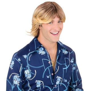 Ladies Man Suave Blonde Wig for Halloween Costume