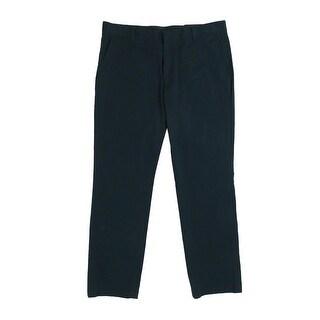 INC International Concepts Men's Stretch Slim-Fit Pants - TEAL