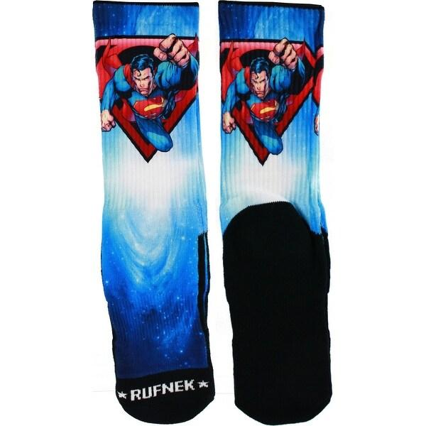 Rufnek Man of Steel Galaxy Men's Socks