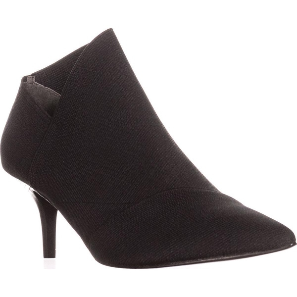 Adrianna Papell Hermes Pointed-Toe Ankle Booties, Black