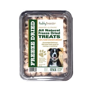 Healthy Breeds Pit Bull Chicken Freeze Dried Treats