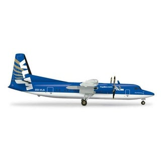 Herpa 200 Scale COMMERCIAL-PRIVATE HE555647 Herpa Vlm F-50 1-200