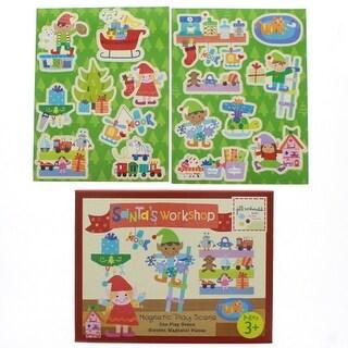 Santa's Workshop Magnetic Play Scene