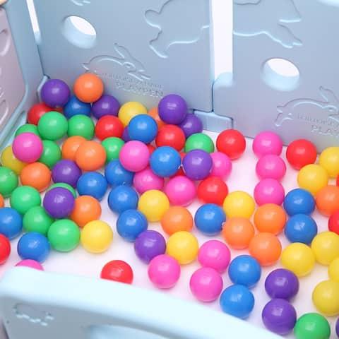 100pcs 5.5cm Fun Soft Plastic Ocean Ball Swim Pit Toys Baby Kids Toys