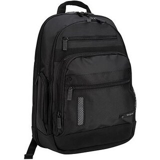 Targus Revolution Checkpoint-Friendly Backpack For Laptops Up To 15.4 Inches, Black (Teb005us)