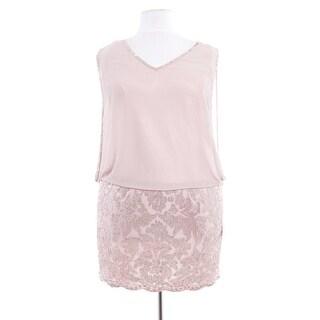 Short Sequin Lace & Chiffon