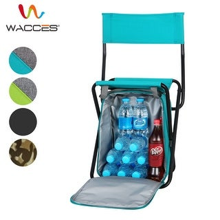 Wacces Multi-Purpose Portable 3 in 1 Stool/Backpack/Cooler Beach Chair