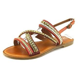 Diba Tango Women Open-Toe Leather Slingback Sandal