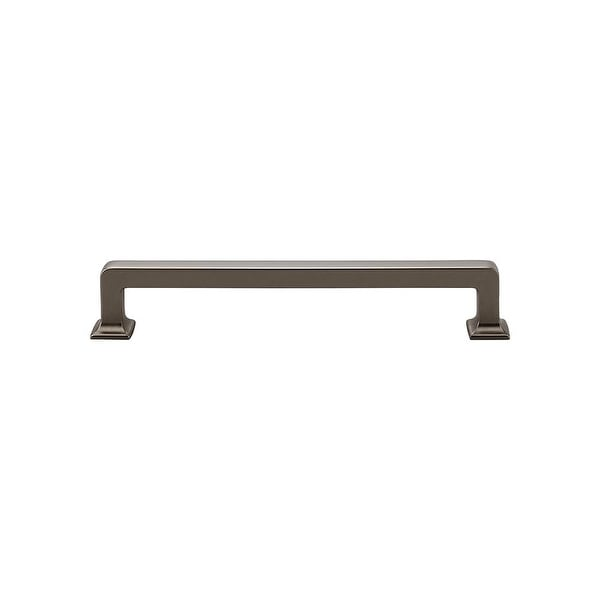 """Top Knobs TK705 Ascendra 6-5/16"""" (160 mm) Center to Center Handle Cabinet Pull from the Transcend Series - n/a"""