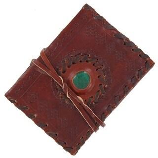 Medieval Dragons Eye Journal Brown - Multi