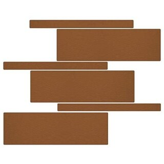 Miseno MT-G5GUAV Nature Mosaic Wall Tile (8.9 SF / Carton)