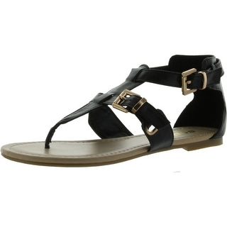 Soda Women Carpen Closed Back Thong Sandals