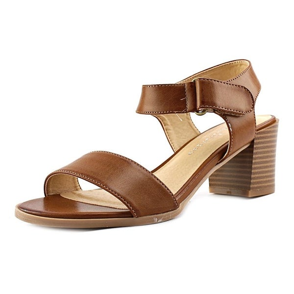CL By Laundry Gateway Women Open Toe Synthetic Brown Sandals