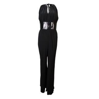R&M Richards Women's Sequined Waist Keyhole Jersey Jumpsuit (Option: 10)|https://ak1.ostkcdn.com/images/products/is/images/direct/b355552ad4e18f5126e4cf8d301abb62be512c7f/R%26M-Richards-Women%27s-Sequined-Waist-Keyhole-Jersey-Jumpsuit.jpg?_ostk_perf_=percv&impolicy=medium