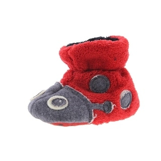 Acorn Easy Critter Ladybug Infants Plush Slippers - 6-12 mo