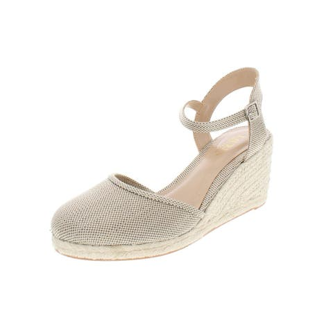 2d453ae43 Lauren Ralph Lauren Womens Hayleigh Wedge Sandals Espadrille Ankle