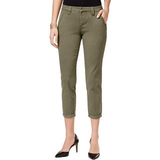 Jag Jeans Womens Dana Ankle Pants Twill Chino