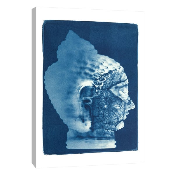 """PTM Images 9-105503 PTM Canvas Collection 10"""" x 8"""" - """"Buddha #1"""" Giclee Abstract Art Print on Canvas"""