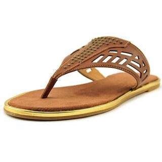 Nine West Kellcie Open Toe Synthetic Thong Sandal