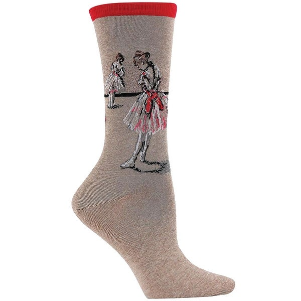 Women's Fine Art Socks - Degas - Dancer - Medium
